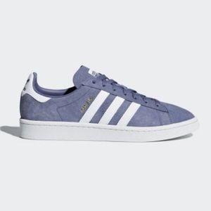 Adidas Campus Shoes Raw Indigo Cloud White AQ1089